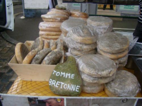 La tomme bretonne de Baden