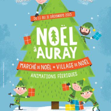 Bienvenue sur le marché de Noël d'Auray!