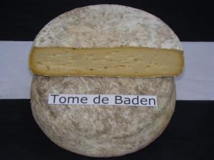 La tome de Baden, fromage breton au lait cru de vache.