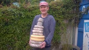 Un amoureux de ses fromages, Guillaume, l'authentique, simple et passionné.