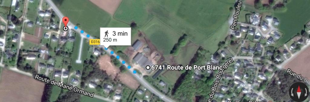 3 minutes à pied de la Fromagerie de la Mer à la ferme