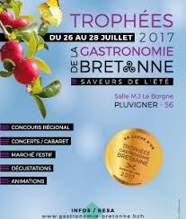 Le grand évènement de l'été: les trophées de la gastronomie bretonne 2017