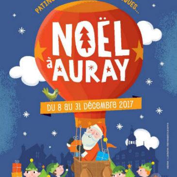 Marché de Noël 2017 d'AURAY
