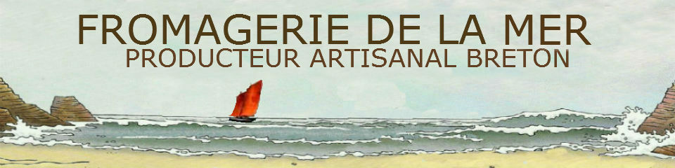 Guillaume Chenot et ses créations uniques en fromagerie bretonne avec des couleurs et des richesses de la mer.