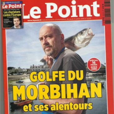 Le journal LE POINT parle de la fromagerie de la mer!