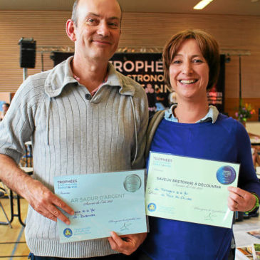 Deux médailles aux Trophées de la gastronomie bretonne © Le Télégramme